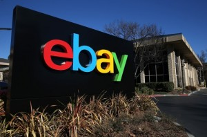 Web auction site eBay said it's systems were hacked and client identity information was stolen. (Justin Sullivan/Getty Images)