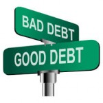 Learn the differences between good debt and bad debt.