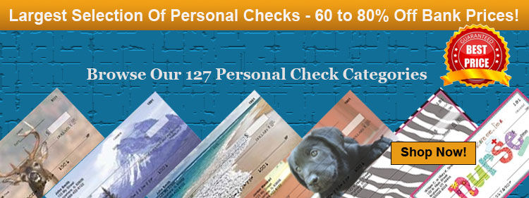 Order Cheap Personal Checks From Value Checks