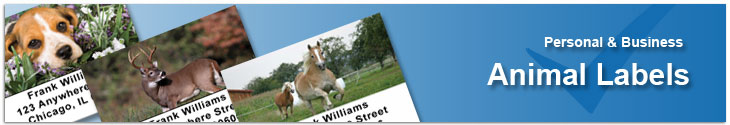 Animal Address Label