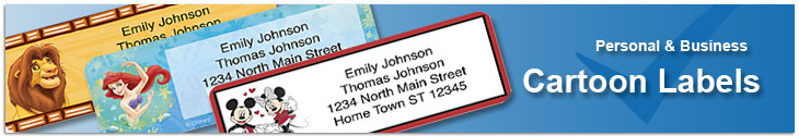 Cartoon Address Labels Address Label