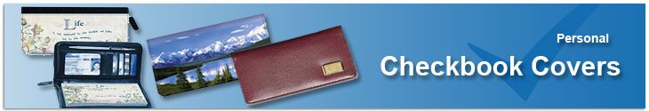 Designer Checkbook Covers Leather