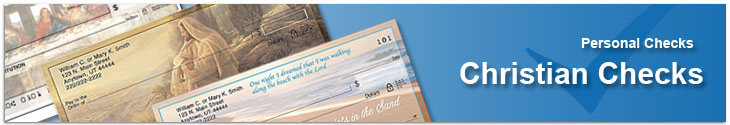 Order Religious Christian checks that show your love and devotion to God