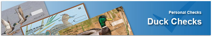 Order Ducks Unlimited & Water Fowl Checks Online