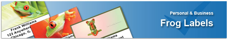 Frogs Address Labels Address Label