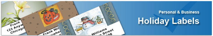 Holiday Address Labels Address Label