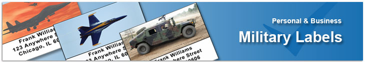 Military Address Labels Address Label