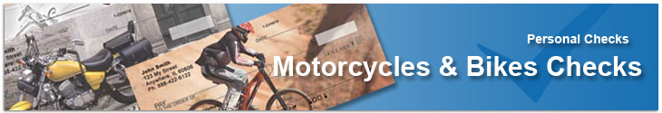 Motorcycles, Harley-Davidsons, Indian Cycles Personal Checks
