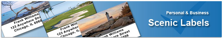 Scenic Address Labels Address Label
