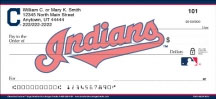 Cleveland Indians Personal Checks