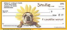 Funny Dog Personal Checks