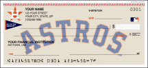 Houston Astros Personal Checks