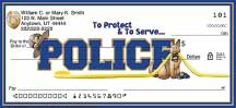 Policemen Personal Checks
