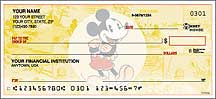 Vintage Mickey Mouse Personal Checks