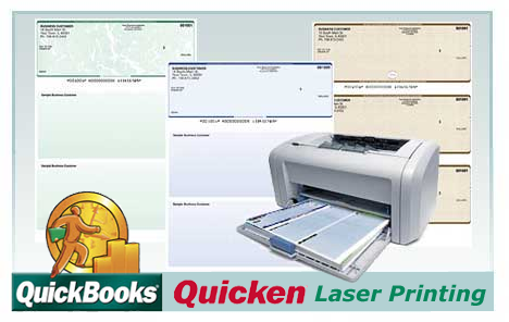 Order classic styled laser business checks for business use