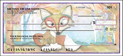 Click on Forest Friends Animal - 1 Box Personal Checks For More Details