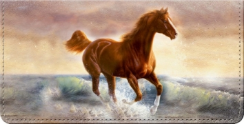 Click on Moments of Majesty Horse Art Checkbook Cover For More Details