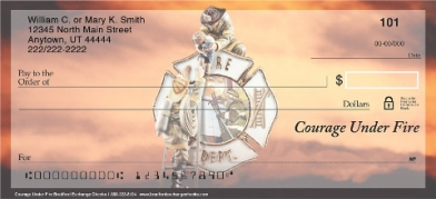 Click on Courage Under Fire Firefighter  Personal Checks For More Details