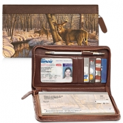 Click on Winter Calm Zippered Checkbook Cover For More Details