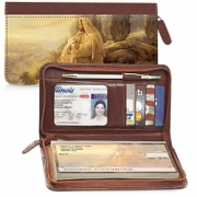 Click on Jesus, Light of the World Zippered Wallet Checkbook Cover For More Details