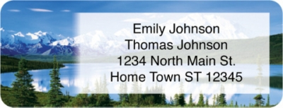 Click on America's National Parks Booklet of 150 Address Labels For More Details