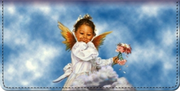Click on Heaven's Little Blessings Checkbook Cover For More Details