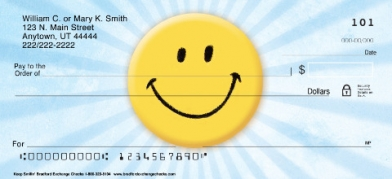 Click on Keep Smiling!  Personal Checks For More Details