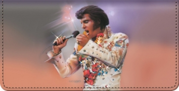 Click on Remembering Elvis(R) Checkbook Cover For More Details