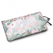 Learn more about Lena Liu's Floral Borders Eyeglass Case