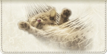 Click on Cat-itude Checkbook Cover For More Details
