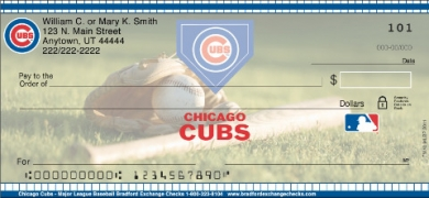 Click on Chicago Cubs(R)  Personal Checks For More Details