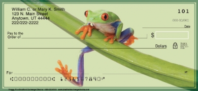 Click on Froggy Fun Personal Checks For More Details