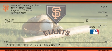 Click on SF Giants(TM) Major League Baseball(R)  Personal Checks For More Details