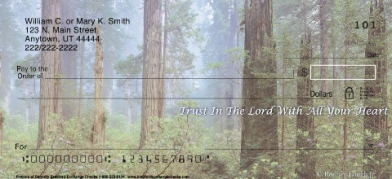 Click on Prayers of Serenity  Personal Checks For More Details