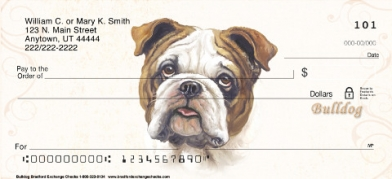 Click on Bulldog  Personal Checks For More Details