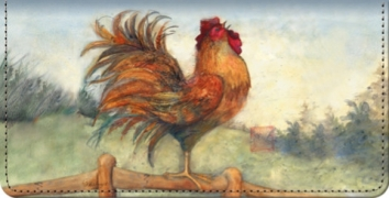 Click on Le Rooster Checkbook Cover For More Details