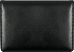 Click on Black Top-Stub Leather Checkbook Cover For More Details