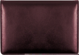 Click on Burgundy Top-Stub Leather Checkbook Cover For More Details