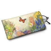 Learn more about Lena Liu's Butterfly Gardens Eyeglass Case