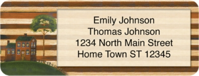 Click on American Heritage Booklet of 150 Address Labels For More Details