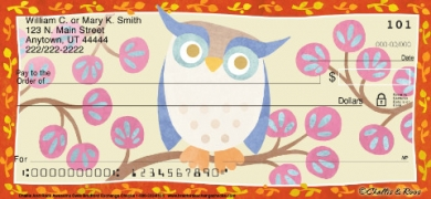 Click on Challis & Roos Awesome Owls  Personal Checks For More Details