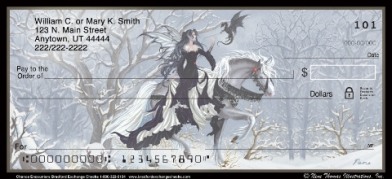 Click on Chance Encounters Fantasy Designs Personal Checks For More Details