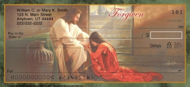 Click on Christian - Forgiven  Personal Checks For More Details