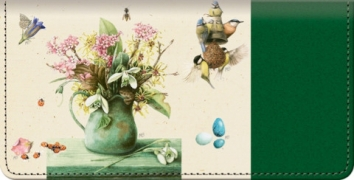 Click on Marjolein's Garden Checkbook Cover For More Details