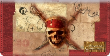 Click on Pirates of the Caribbean Checkbook Cover For More Details