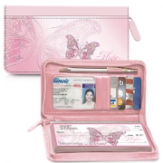 Click on On The Wings of Hope Zippered Leather Checkbook Cover For More Details