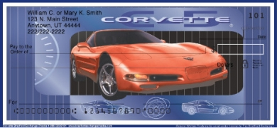 Click on Corvette  Personal Checks For More Details