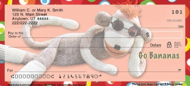 Click on Sock Monkey  Personal Checks For More Details