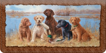 Click on Hunting Buddies Checkbook Cover For More Details