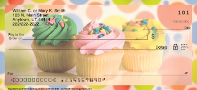 Click on Cupcake Craze Cooking Baking  Personal Checks For More Details